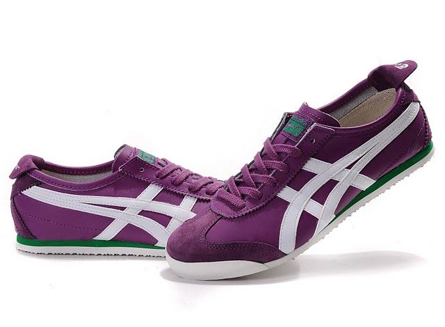 sports shoes 0bd5f b81cf Asics Onitsuka Tiger Mexico 66 Men's & Women's Shoes (Purple ...