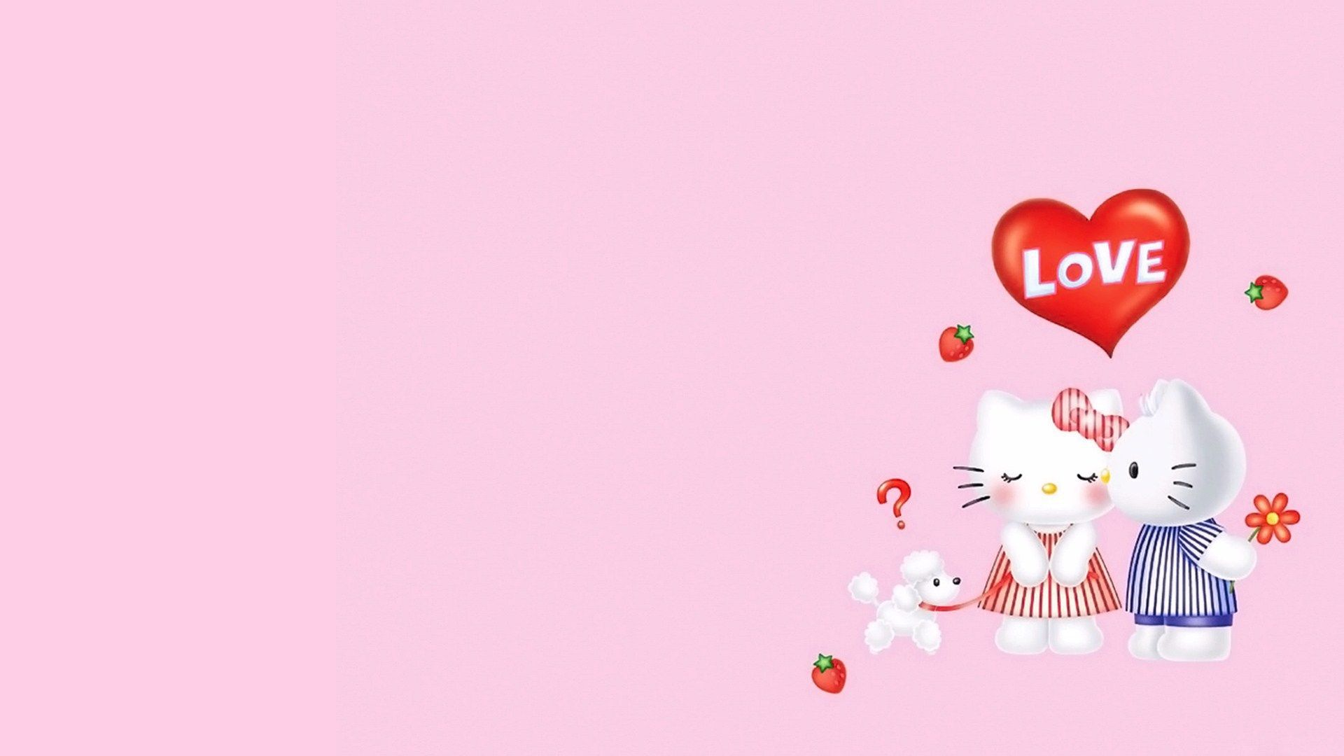Free Desktop Hello Kitty Wallpapers