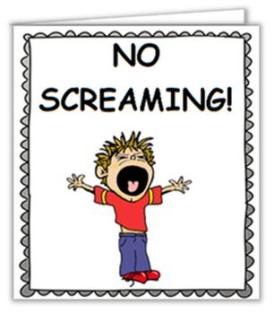 Social Story (Illustrated) - No Screaming | Social skills ...