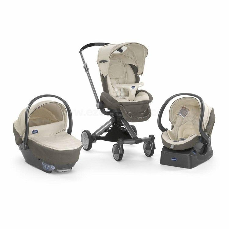70013c9a0 Chicco Trio I-Move Travel System - Aura | Chicco | Baby strollers ...