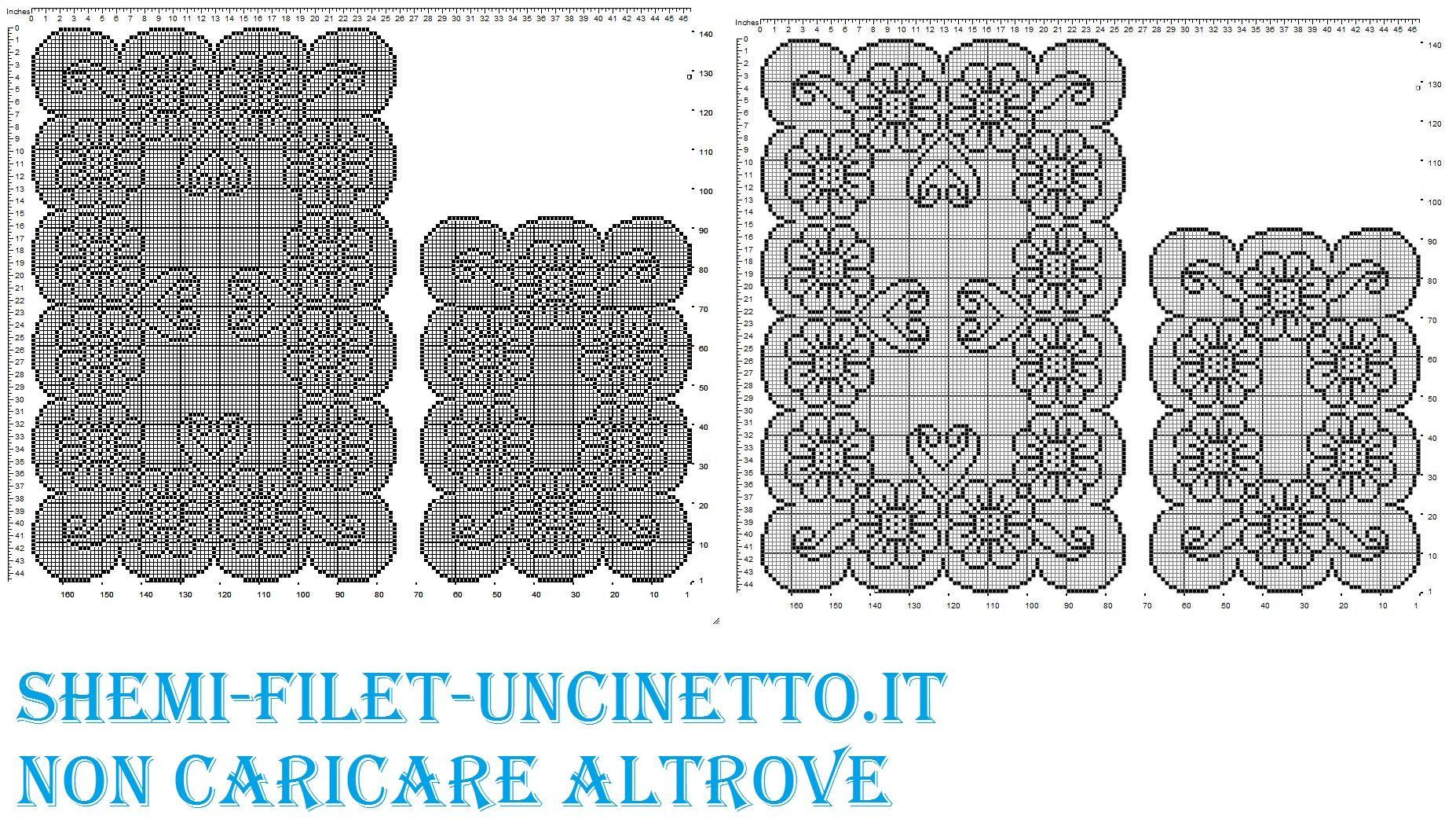 Uncinetto Filet 4 Gul T Crochet Filet Crochet And