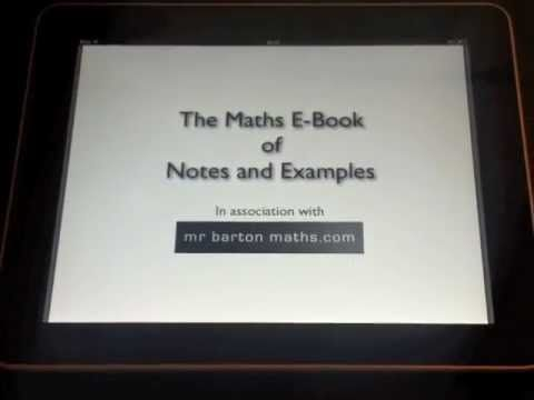 The maths ebook of notes and examples thoughts of a polymath gcse maths revision notes on mrbartonmaths fandeluxe Images