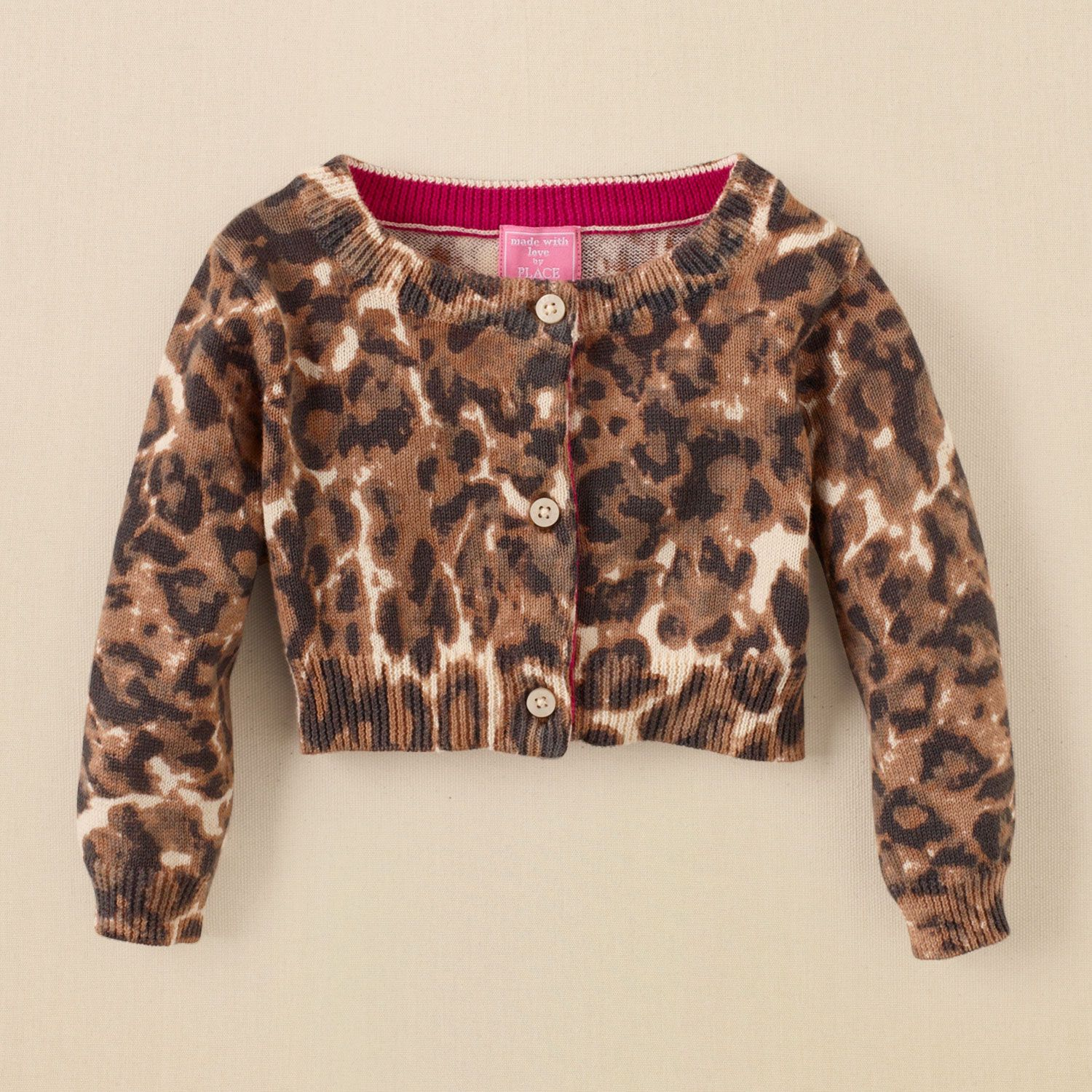 newborn - leopard cardigan | Children's Clothing | Kids Clothes ...