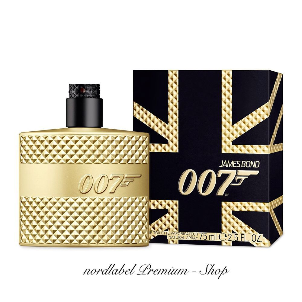 James Bond 007 Limited Gold Edition 75ml Eau De Toilette For Men