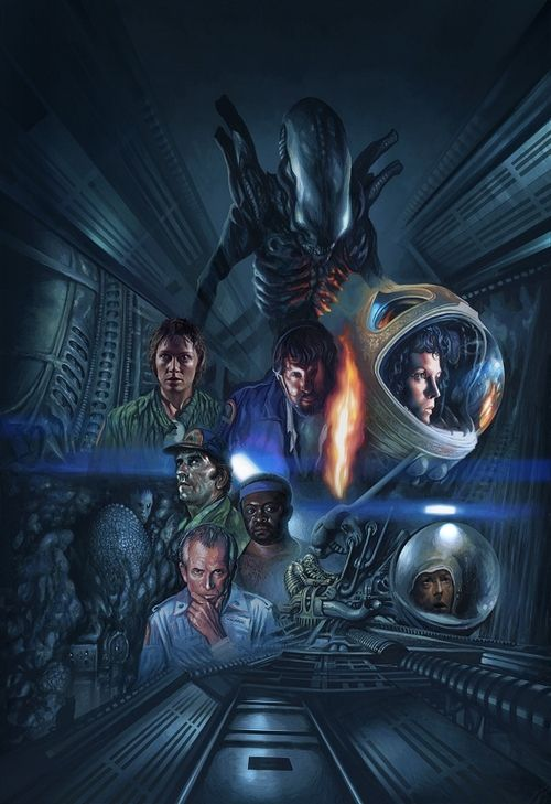 #alien #ellen ripley #xenomorph #prometheus #giger #space jockey #mother #warrior #space #astronaut #art #movie #concept #galaxy