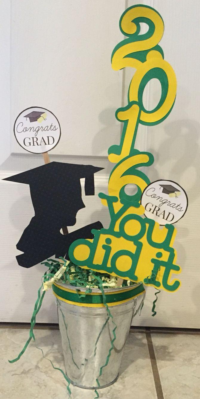 Graduation centerpiece mixila pinterest graduation centerpiece