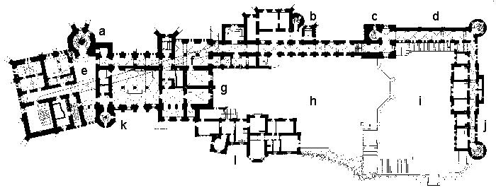 Plan Of The Castle Complex Neuschwanstein Castle Germany Palaces Castle