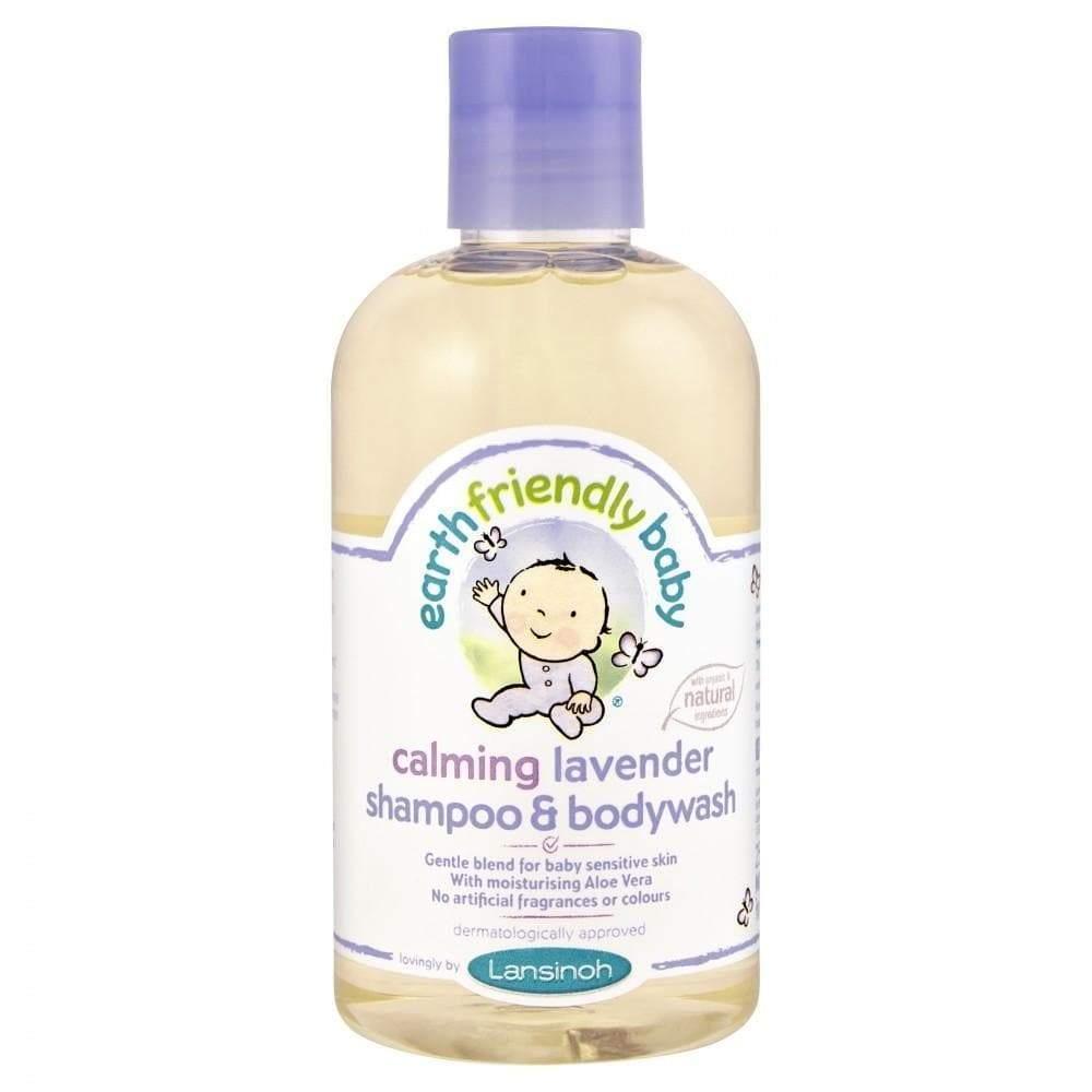 Earth Friendly Baby Calming Lavender Shampoo Bodywash 250ml