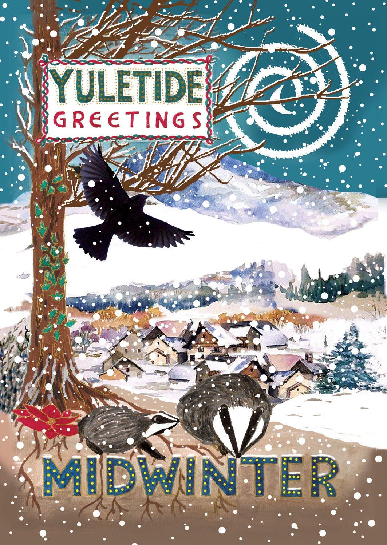 Pagan yule cards topsimages yule winter solstice pack of beautiful colourful fairy pagan cards designs ebay jpg 1063x1498 pagan yule m4hsunfo