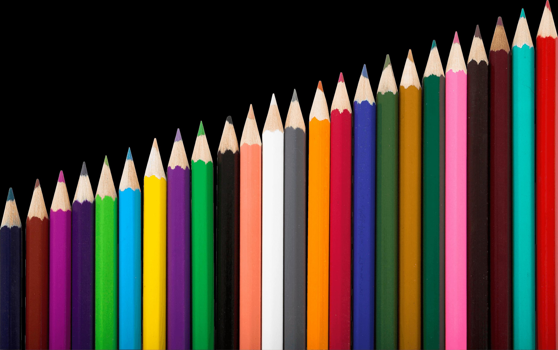 Row Of Colour Pencils Colored Pencils Pencil Png Pencil Design