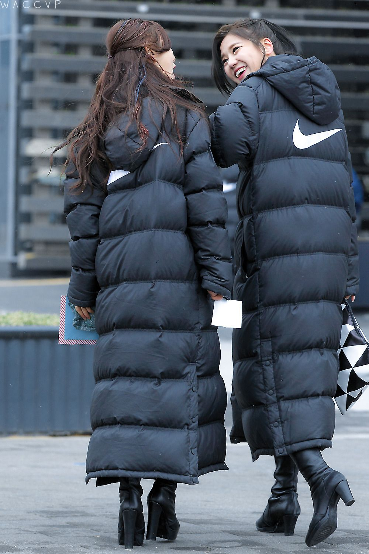 nike long winter coat