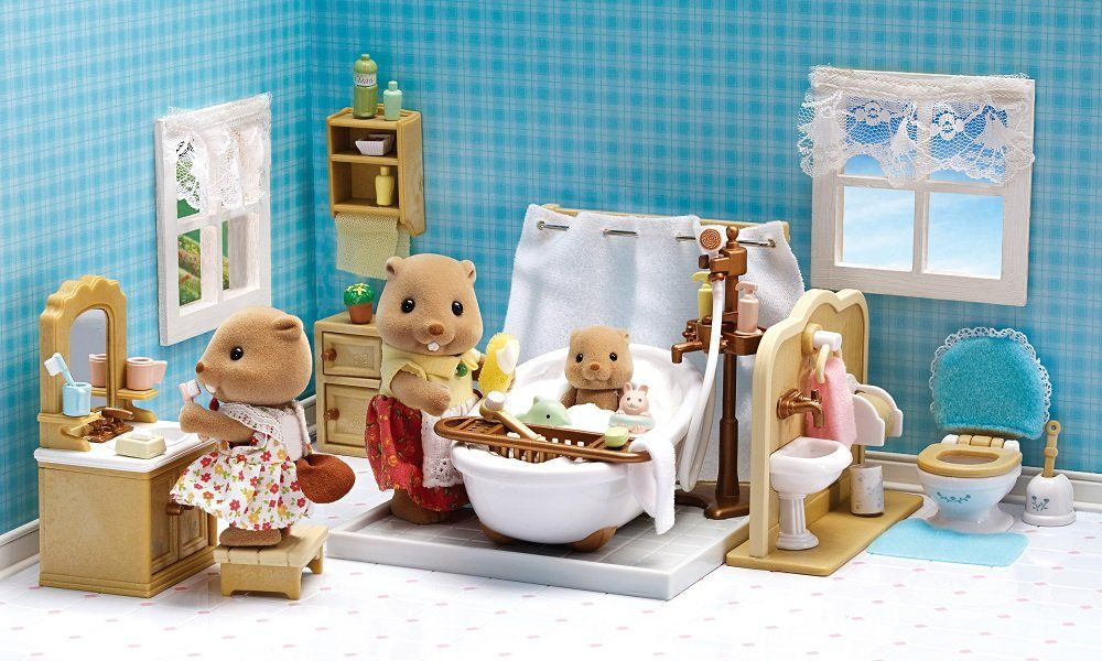 Calico Critters Deluxe Bathroom Set *** Want to know more