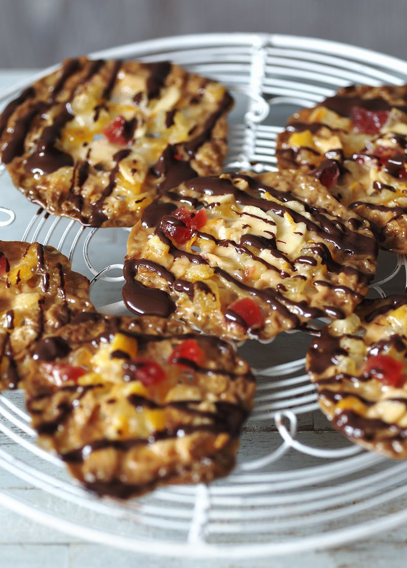 Cherry and ginger florentines recipe christmas hamper sweet cherry and ginger florentines christmas foodschristmas recipeschristmas forumfinder Gallery