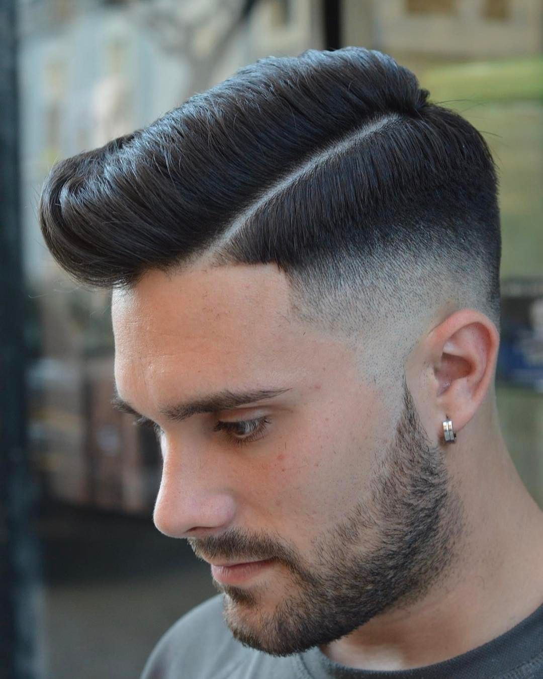 Hard Part Haircuts For Men 2017 Male Hairstyles Pinterest