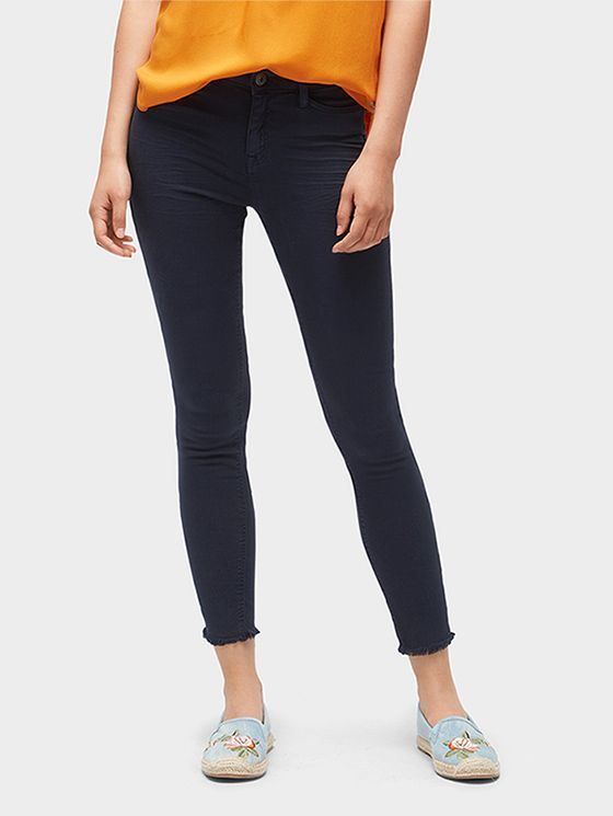 06c1f7d157e Nela Extra Skinny ankle-length trousers - Women - Real Navy Blue ...