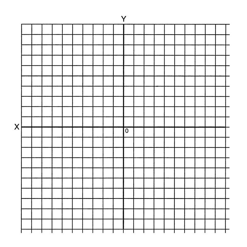 150242, Self-Adhesive Graph Stickers Label, Accentuated, Not - blank grid chart