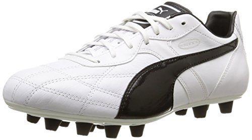 One 17.4 IT, Chaussures de Football Homme, Blanc (White-Black-Fiery Coral), 45 EUPuma