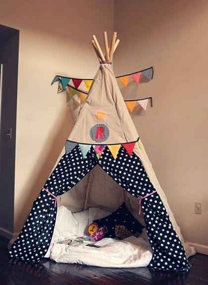 indoor teepees and tents. Diy TeepeeTeepee KidsPlay ... & indoor teepees and tents | quiet corner | Pinterest | Tents Room ...