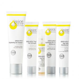 Juice Beauty Green Apple Age Defy Solutions Kit Dillard S In 2020 Juice Beauty Age Defying Gel Cleanser