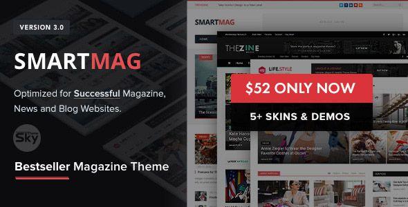 FREE Download SmartMag v3.1.0 – Responsive Magazine WordPress Theme ...