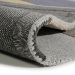 benuta Kids Wollteppich Funk Grau 120×170 cm – Naturfaserteppich aus Wolle benuta