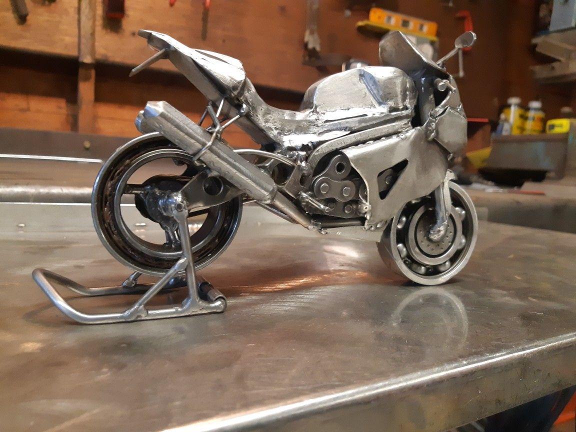 Metall-ART Design Motorrad Streetbike
