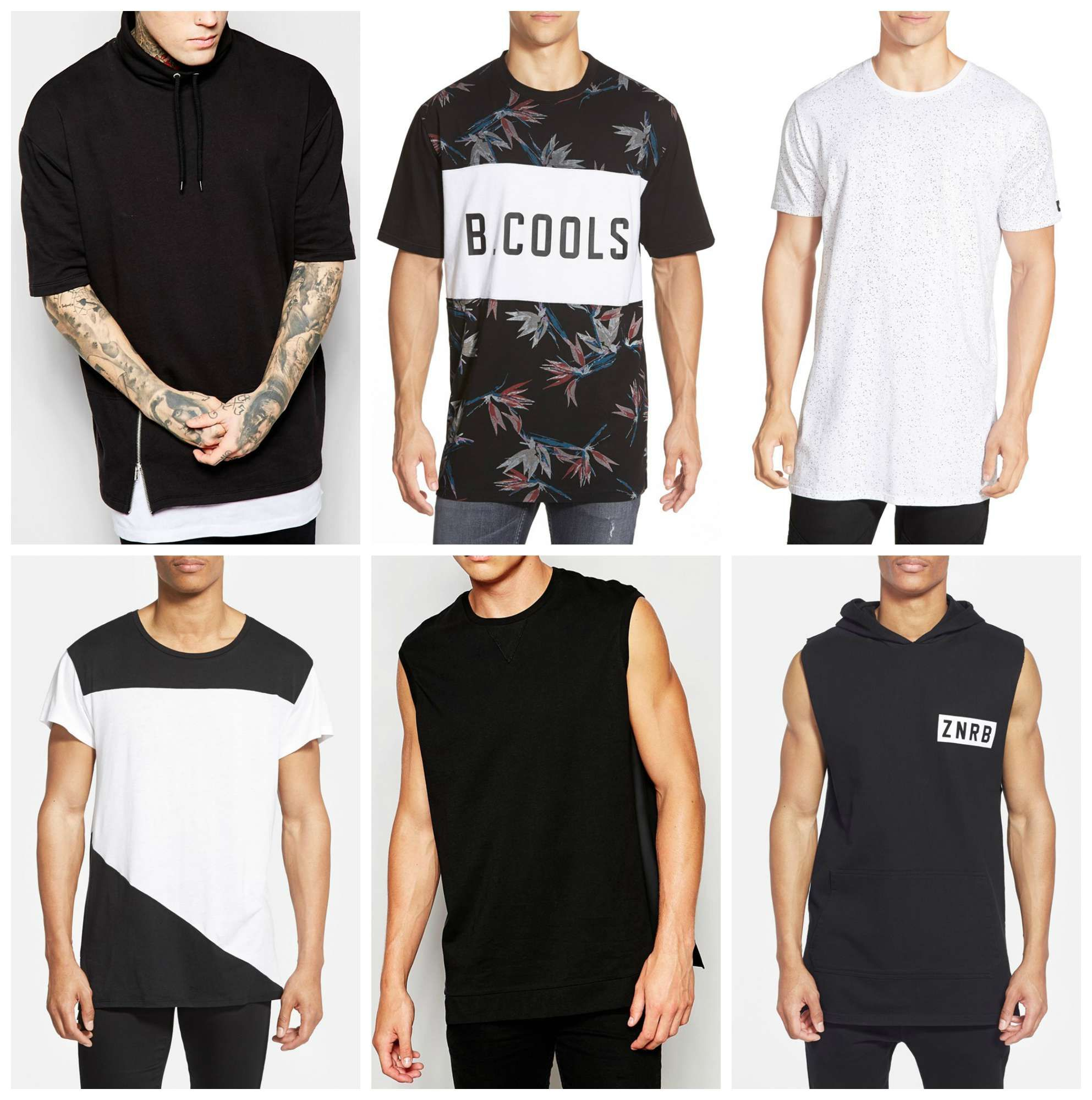 The New Oversized T Shirts Men's Street Style Trend, and Where to ...