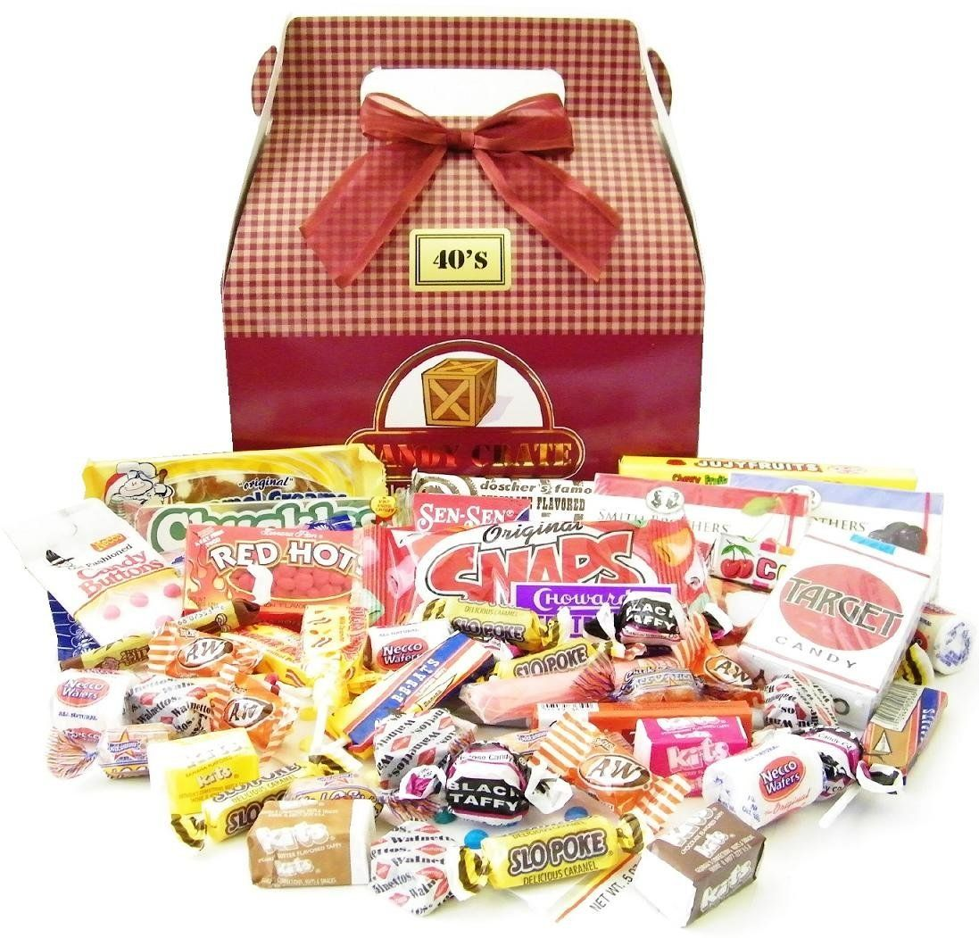 Vintage Halloween Candy Crate 1940's Retro Candy Gift Box: Amazon ...