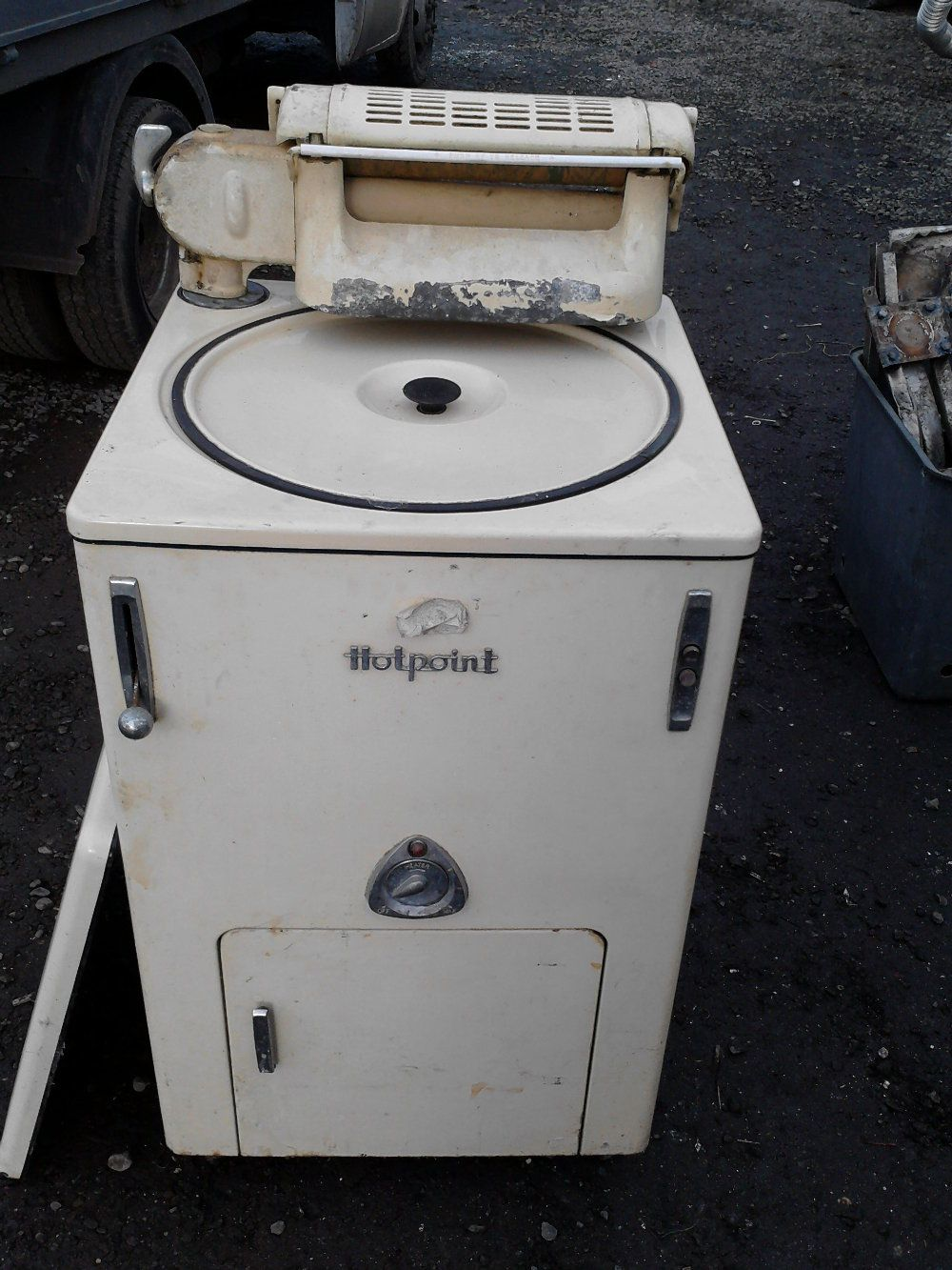 Discuss O Mat Thread Vintage Hotpoint 1950s Washing