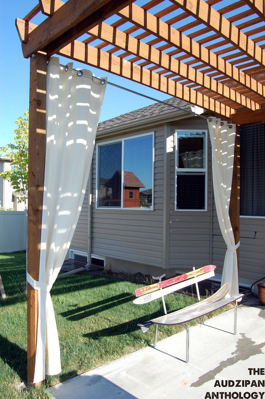 Diy outdoor curtain ideas - Outdoor Living Areas