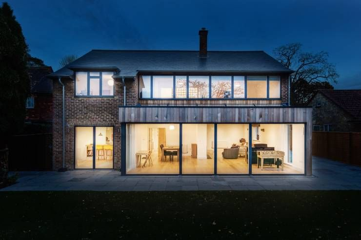 A 300k Surrey home renovation Surrey Rear extension and House