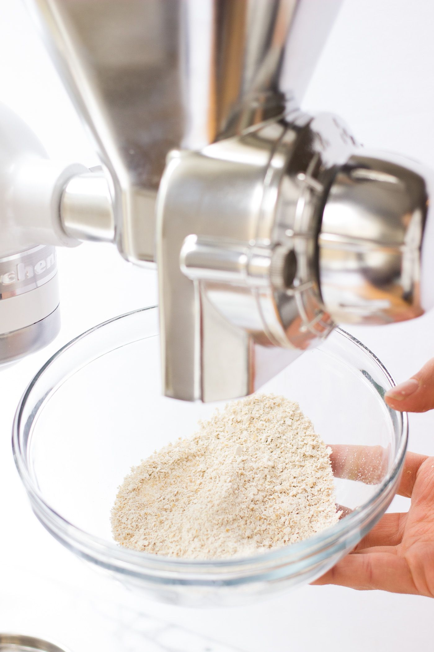 Homemade flour grain mill kitchen aid harvest recipes