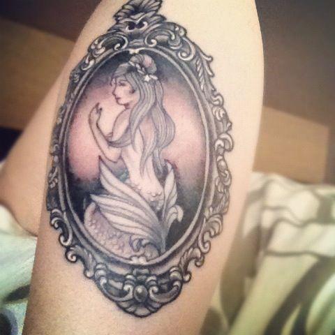 Mermaid tattoo mermaid tattoo arm jpg tats pinterest for Mermaid tattoos pinterest