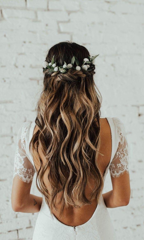 1001 Modeles Feeriques De Coiffure De Mariage Pour Cheveux Longs Coiffure Mariage Cheveux Long Cheveux De Mariee Coiffure Mariage