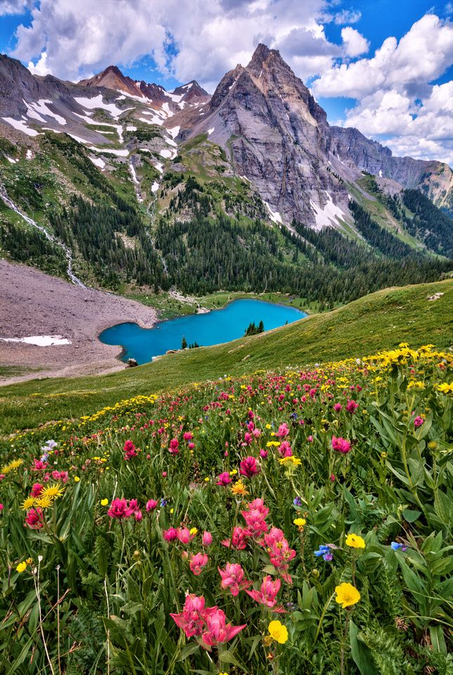 Mt  Sneffels Wilderness  Blue Lakes, Colorado is part of Colorado hiking -