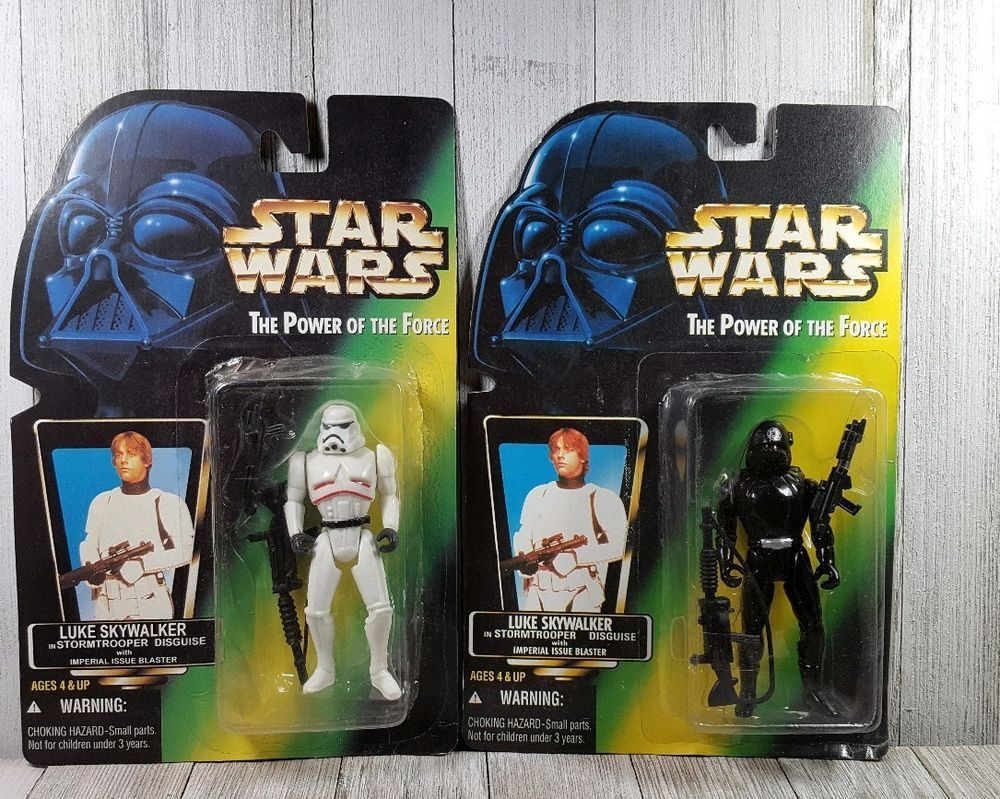 """Star Wars Classic Power of the Force 2 IMPERIAL SANDTROOPER 3.75/"""" FIGURE"""