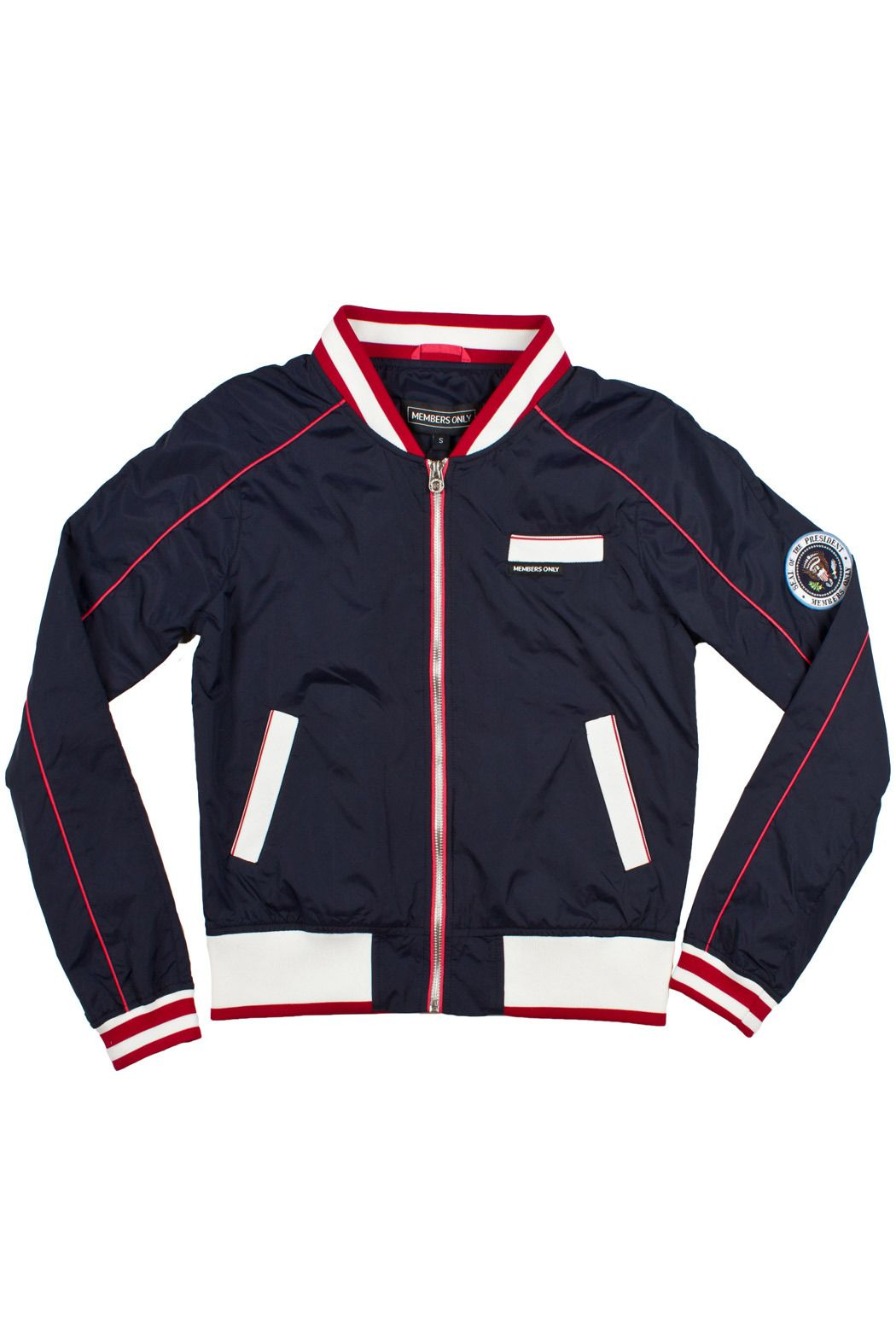 Presidential Bomber Bomber Jacket Women Jackets Blue Color Combinations [ 1575 x 1050 Pixel ]
