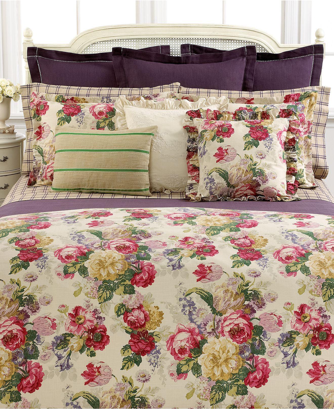 Lauren ralph lauren bedding surrey garden collection for Ralph lauren bathroom