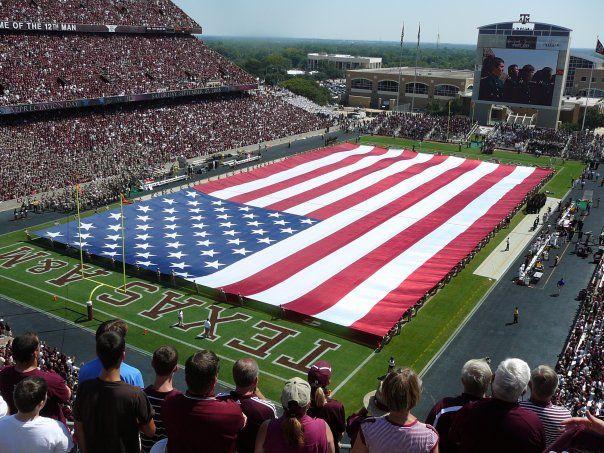 Kyle Field Texas A M University Texas A M University Texas A M Football Texas Football