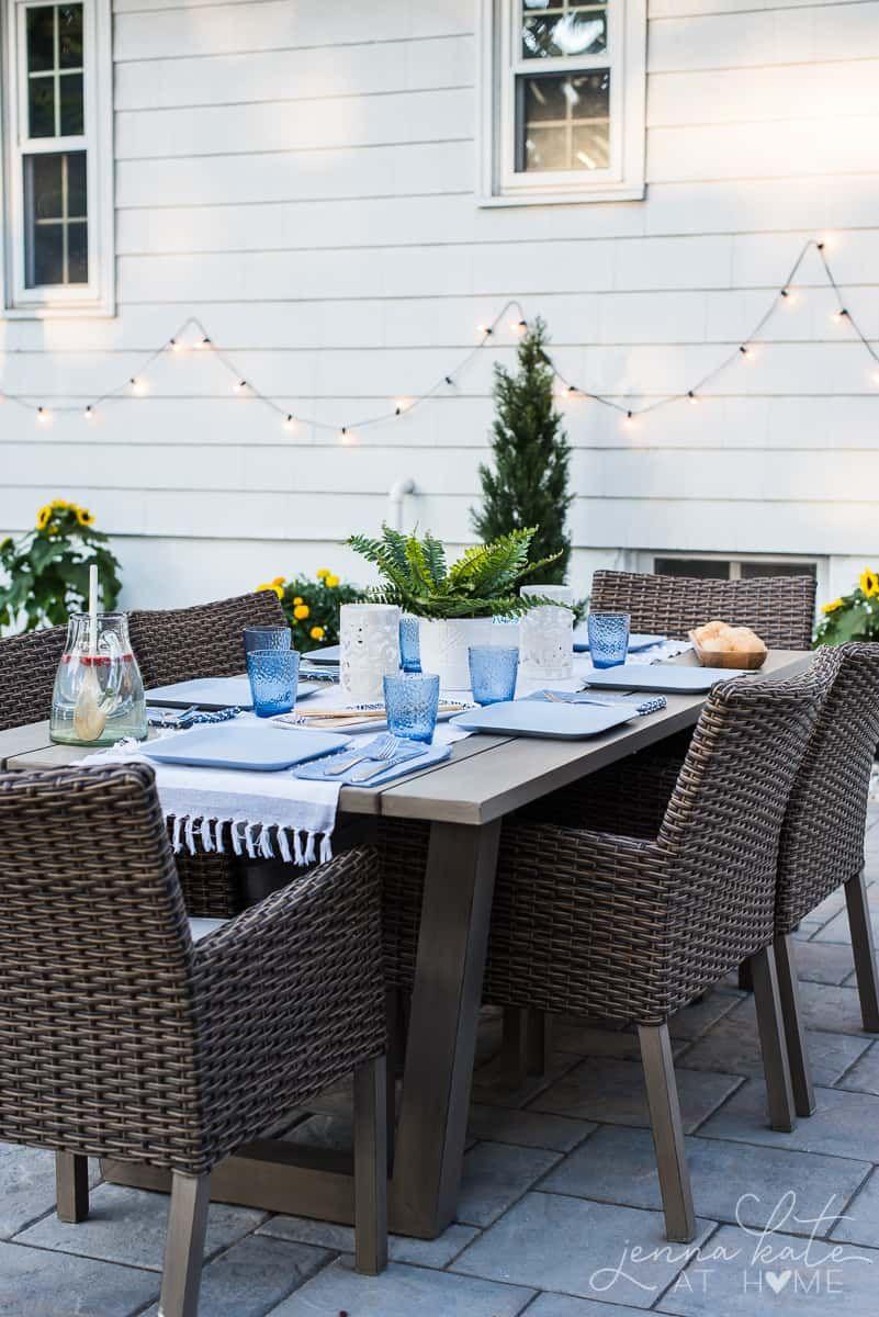 Backyard Patio Reveal Beautiful