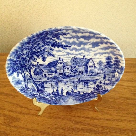 Vintage Sadler Afternoon Tea Collection Plate by NanasAtticFairy, $20.00