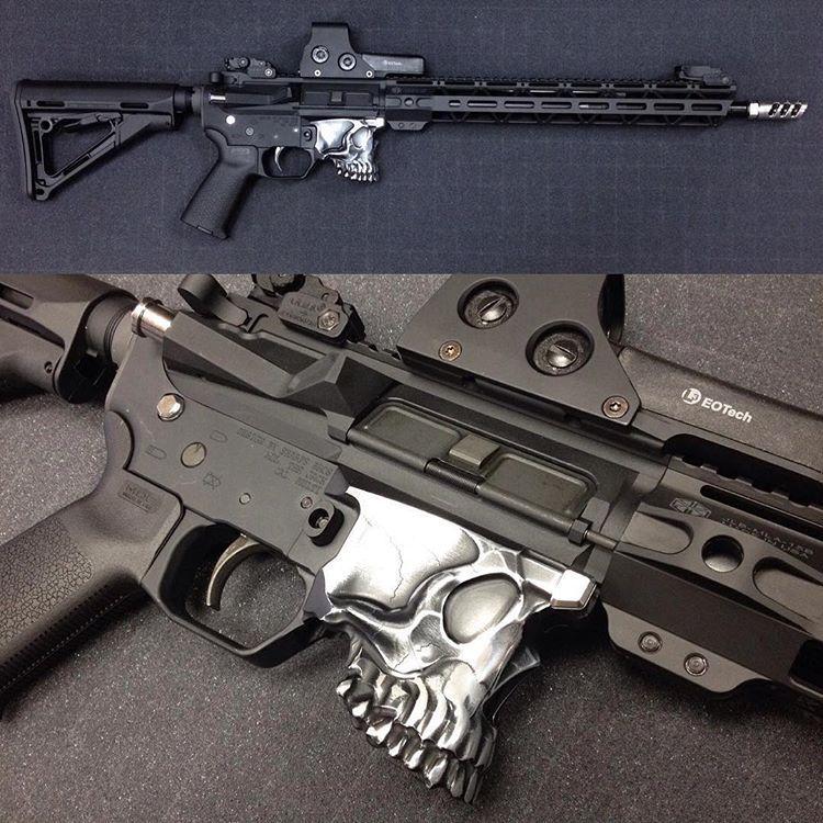 Polished jack lower Guns, Hand guns