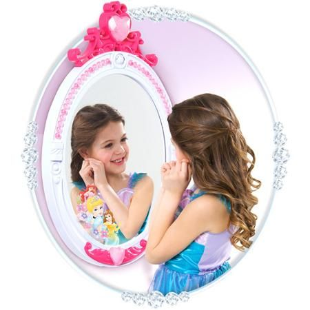 Disney Princess Magic Talking Mirror Walmart Com
