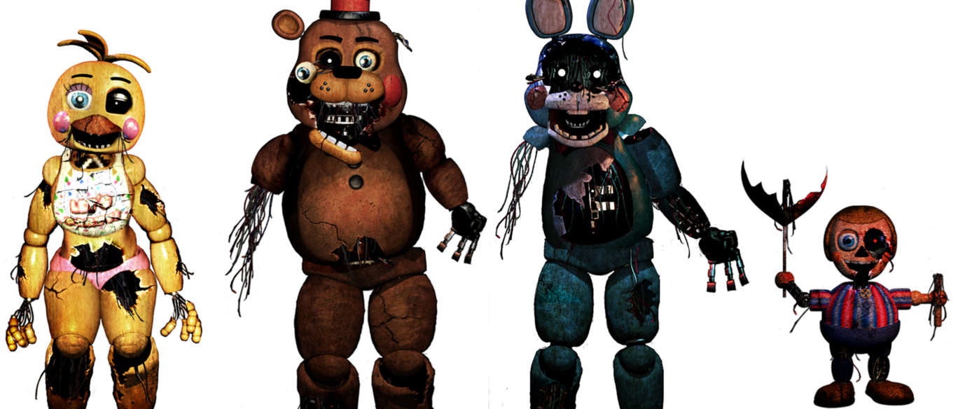 Five Nights At Freddy S Withered Toys Five Nights At Freddy S Five Night Freddy S