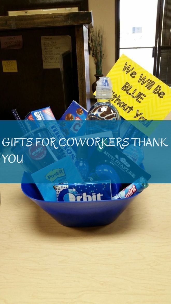 gifts for coworkers thank you