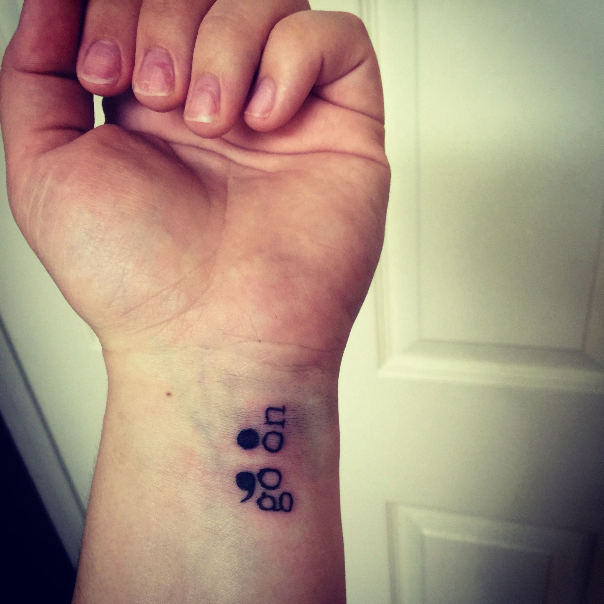 semicolon tattoos - HD 2048×2048