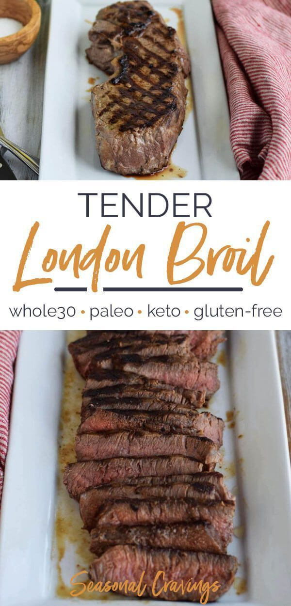 Tender London Broil Tender London Broil | This recipe will help you create the most delicious, tender, and flavorful steak that guarantees to become a family favorite. - Seasonal Cravings