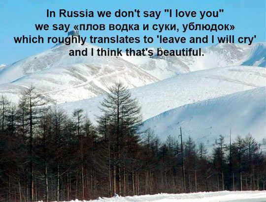 I Love You In Russian Russian Sayings Say I Love You My Love