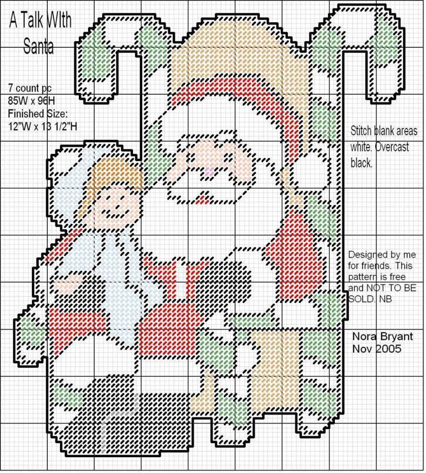 Pin de Michele Carns en Plastic canvas Christmas | Pinterest | Papá ...