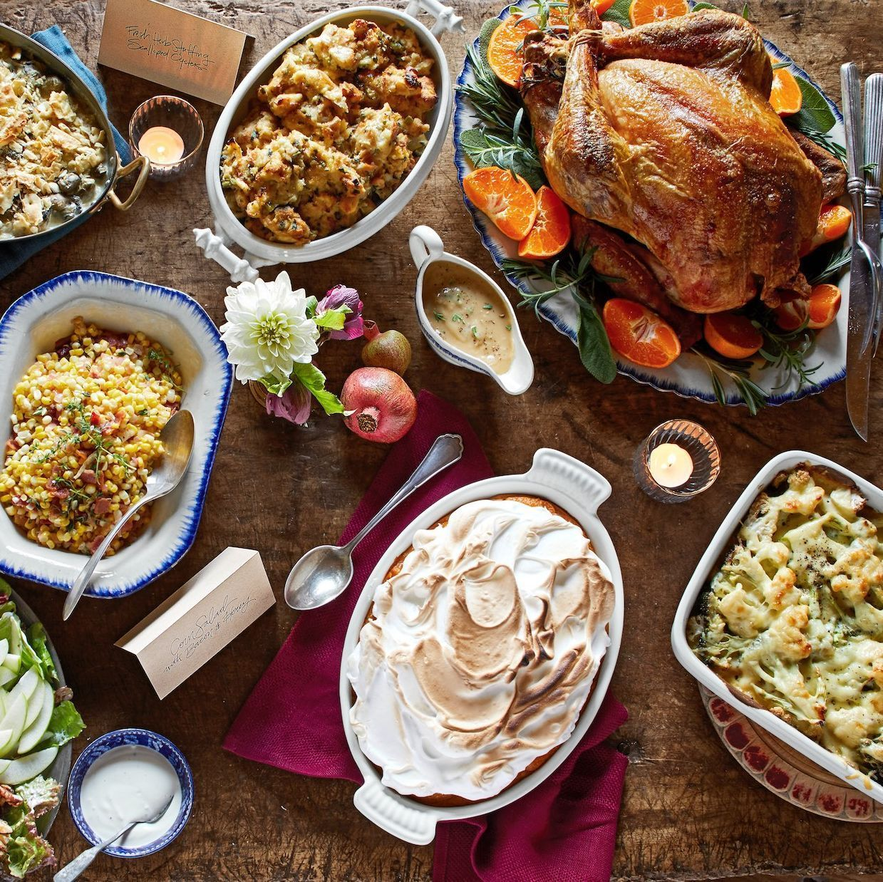 30 Thanksgiving Menus That Will Make November So Much